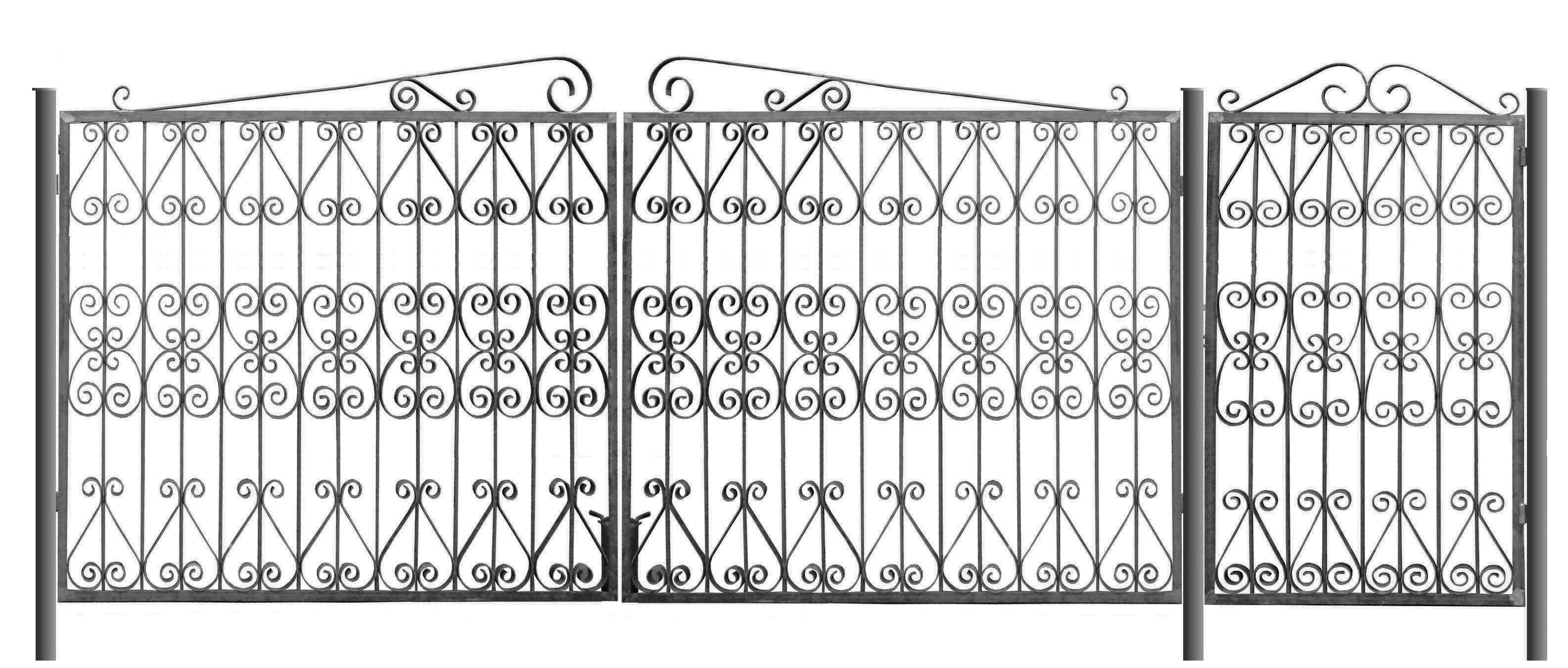 Ворота, изготовленные по индивидуальному заказу